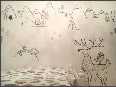 peinture-murale-chambre-enfant-noiretblanc-2