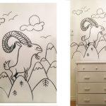 peinture-murale-chambre-enfant-noiretblanc-4
